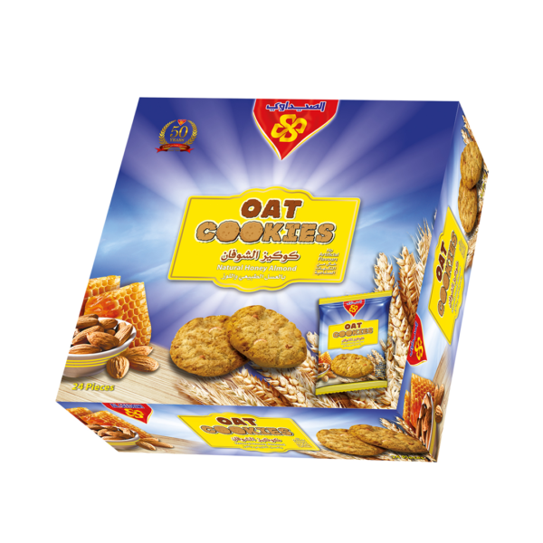 Oat Cookies (Natural Honey Almond)