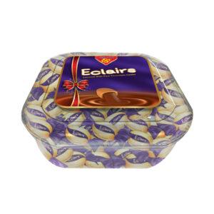 Eclairs Chocolate Plastic Box Box 550gm