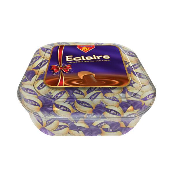 Eclairs Chocolate Plastic Box 550 gm