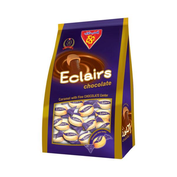 Eclairs Chocolate stand Bag 750 gm