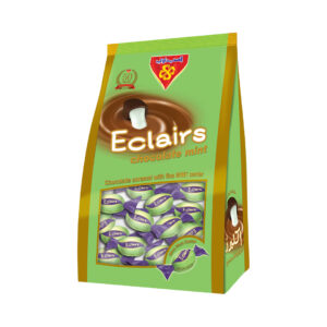 Eclairs Chocolate Mint stand Bag 750 gm