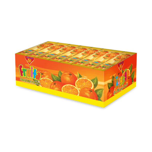 Toffee Fruita Fingers Orange