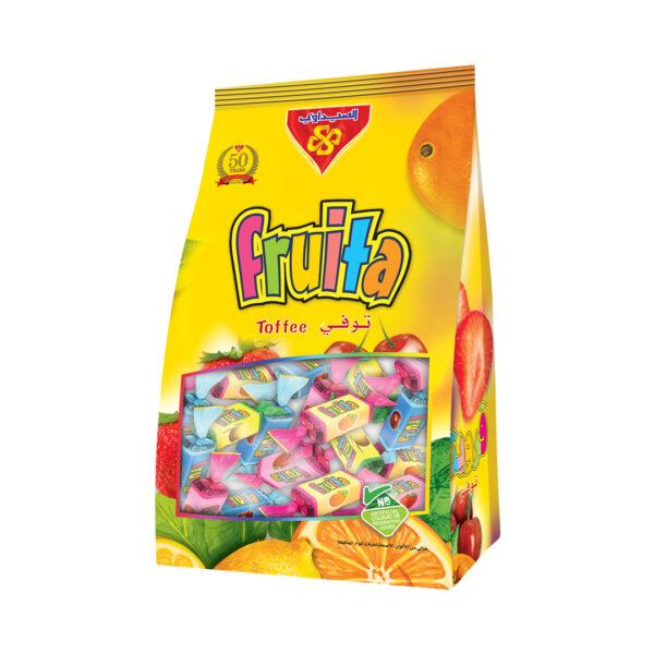 Toffee Fruita stand Bag 750 gm