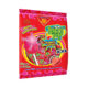 Happy Pop XXL Lollipop (Cherry Flavored with Chewing Gum Filling Bag) 50 PCs