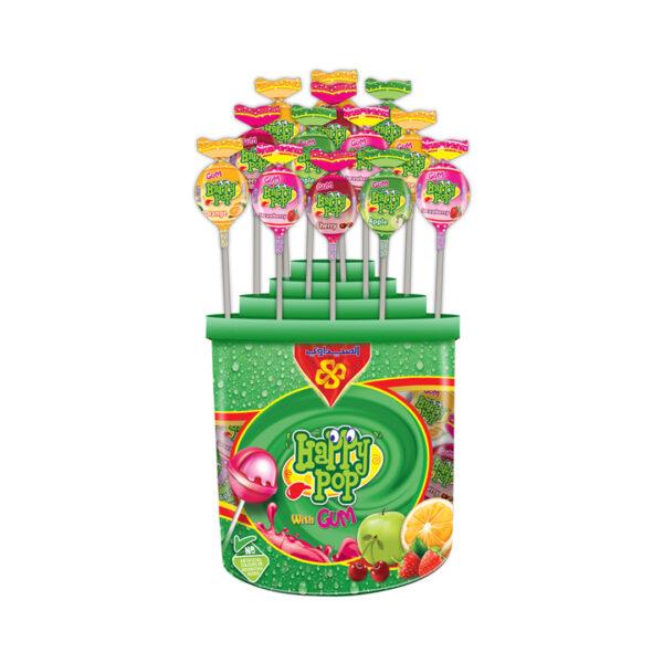 Happy Pop with Gum Plastic 10gm