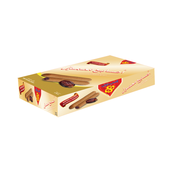 Maamoul Fingers Packet 20pcs Maamoul Fingers filled with Date