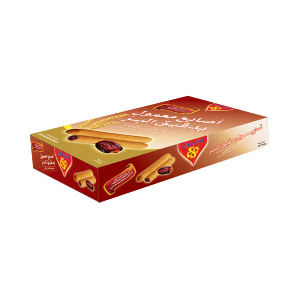 Maamoul Fingers - Whole Wheat Flour filled with Date - 20pcs