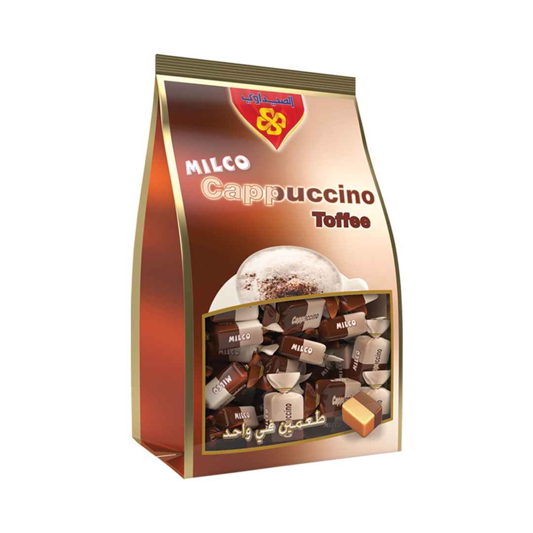 Toffee Milco Cappuccino Stand Bag 750 gm