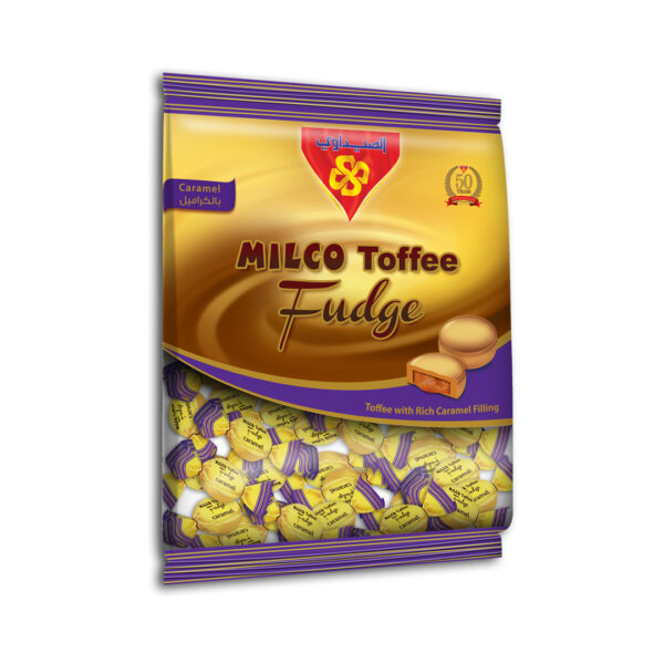 MILCO Toffee fudge Bag 10x1 Kg (Toffee with Caramel)