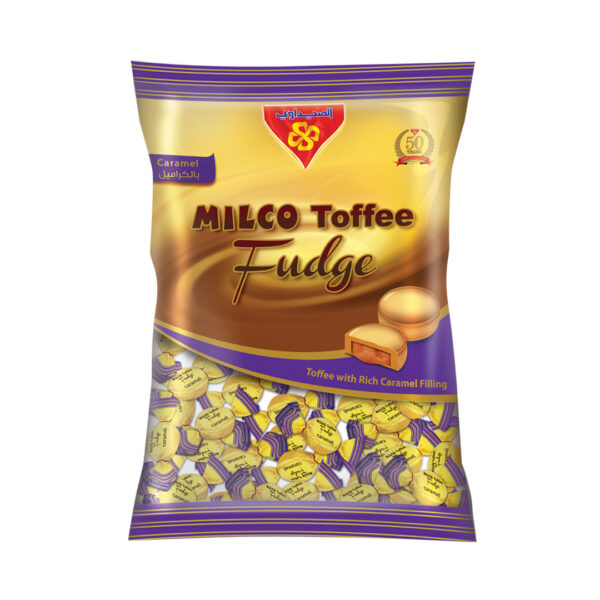 MILCO Toffee Fudge Bag 2.5 Kg (Toffee with Caramel)