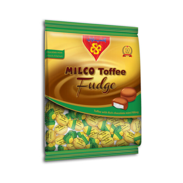 MILCO Toffee Fudge Bag 10x1 kg (Toffee with Chocolate Mint)