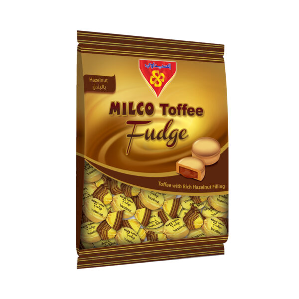 MILCO Toffee Fudge Bag 400 gm (Toffee with Hazelnut)