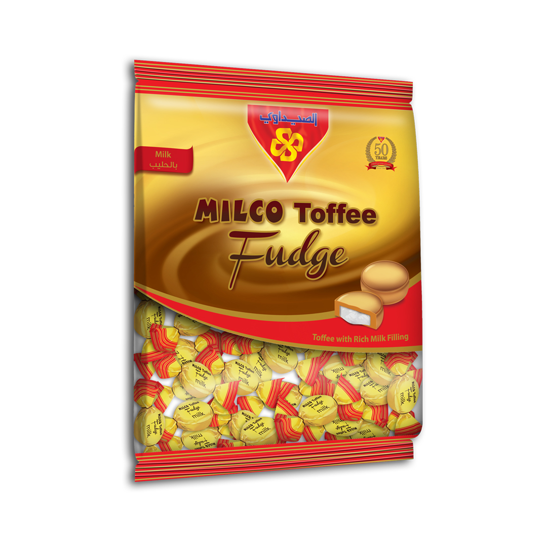MILCO Toffee fudge Bag 10x1 Kg (Toffee with Milk)