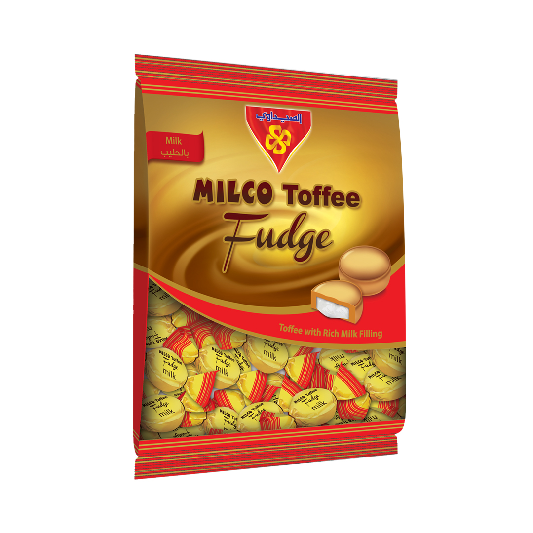MILCO Toffee Fudge Bag 400 gm (Toffee with Milk)