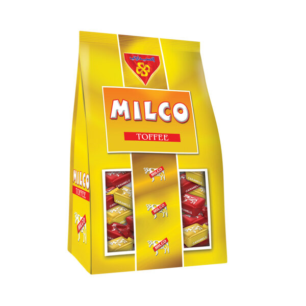 Toffee Milco Stand Bags 750 gm