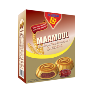 Maamoul – Wheat Flour filled with Date Packet – 16Pcs