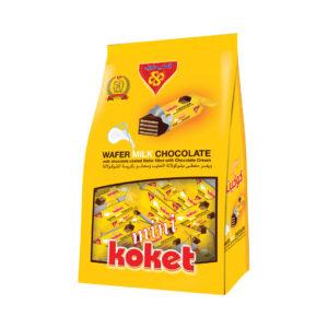 Mini Koket Milk Chocolate Stand Bag 225gm